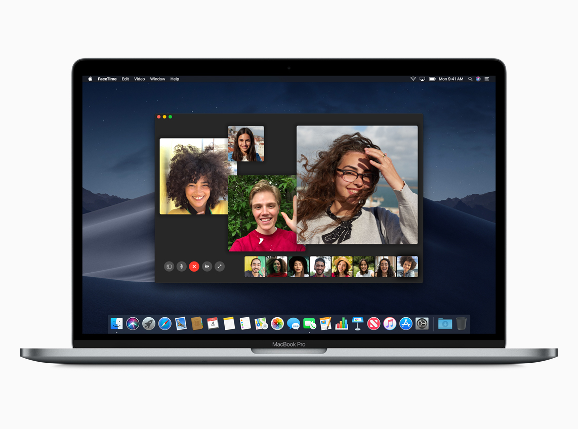 macOS Mojave Group FaceTime
