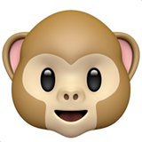 iOS 11の「サルの顔」絵文字