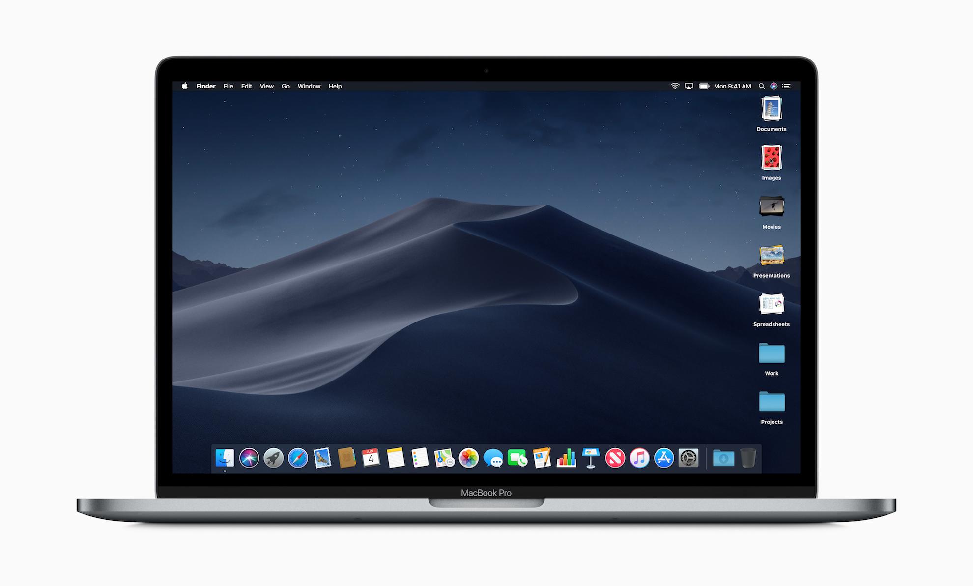 次期macOS「Mojave」の9月25日リリースを発表