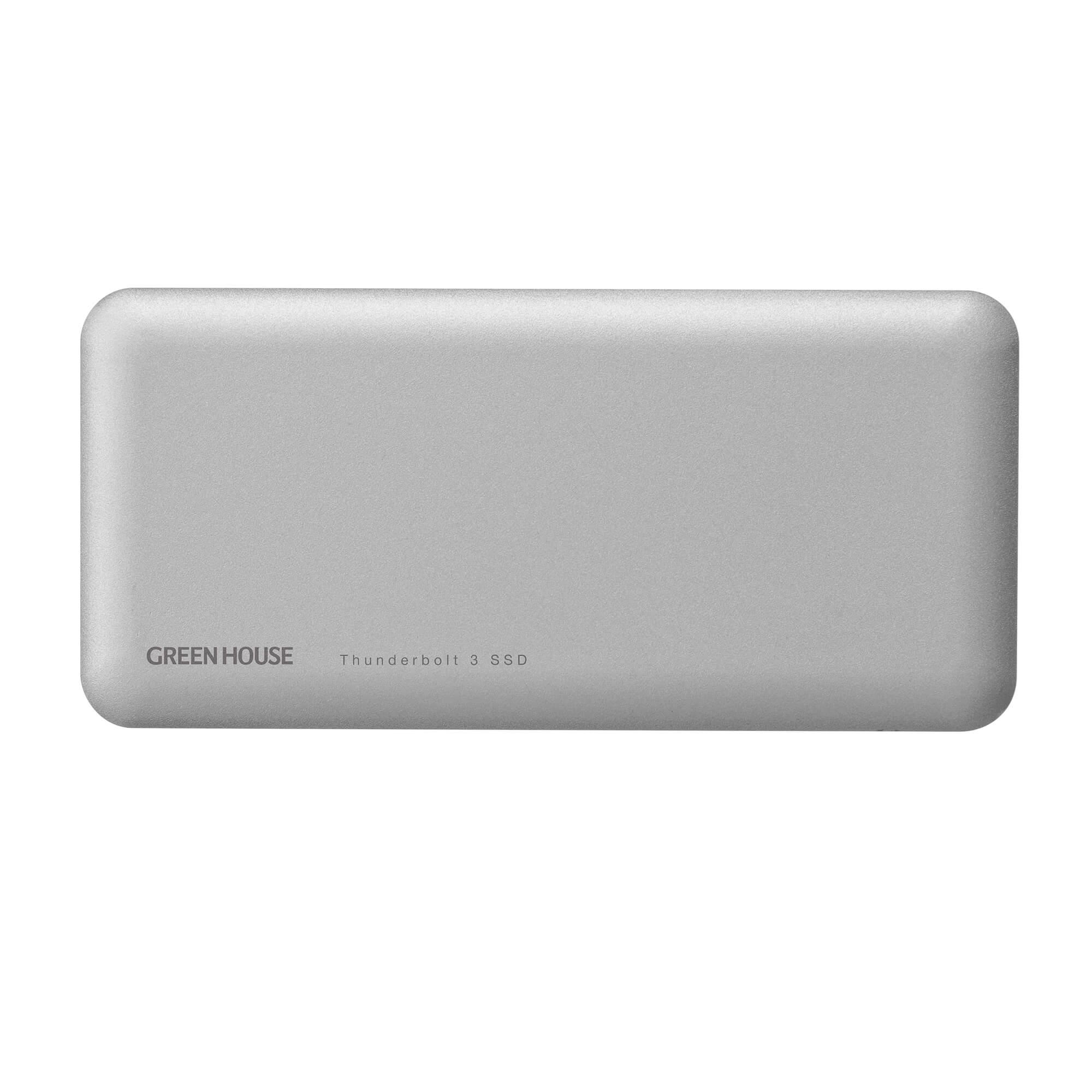 グリーンハウス、Thunderbolt 3接続SSD「GH-SSDTB3A」シリーズを発売