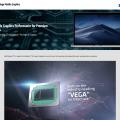 MacBook Pro Radeon Pro Vega