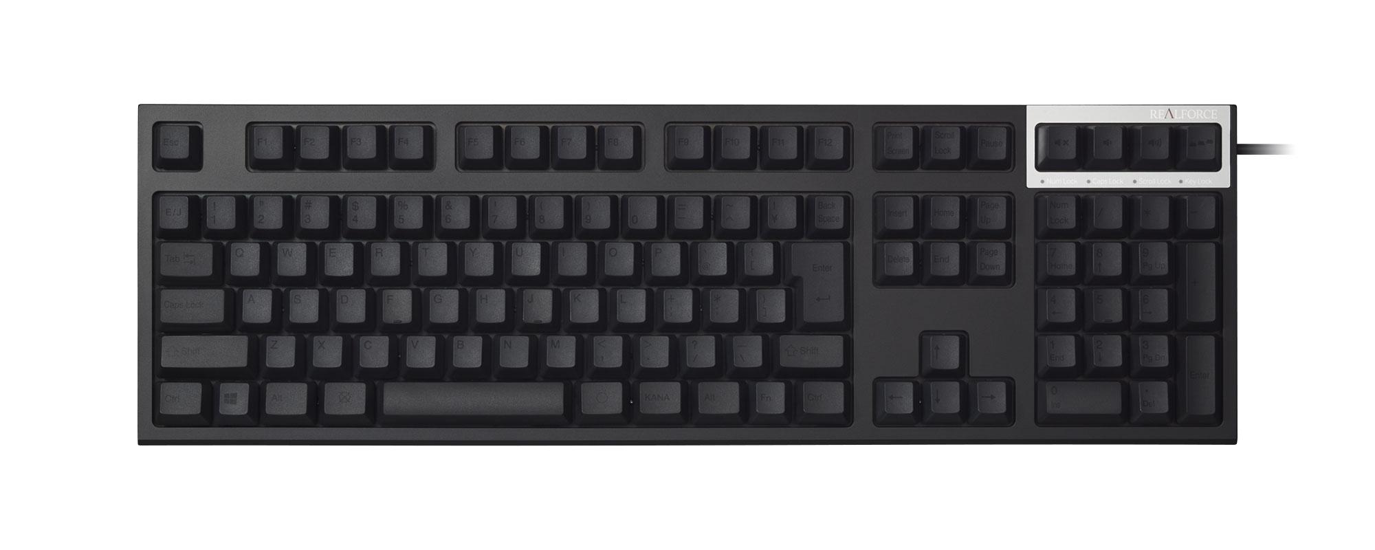 Mac用の第2世代REALFORCEキーボードが登場