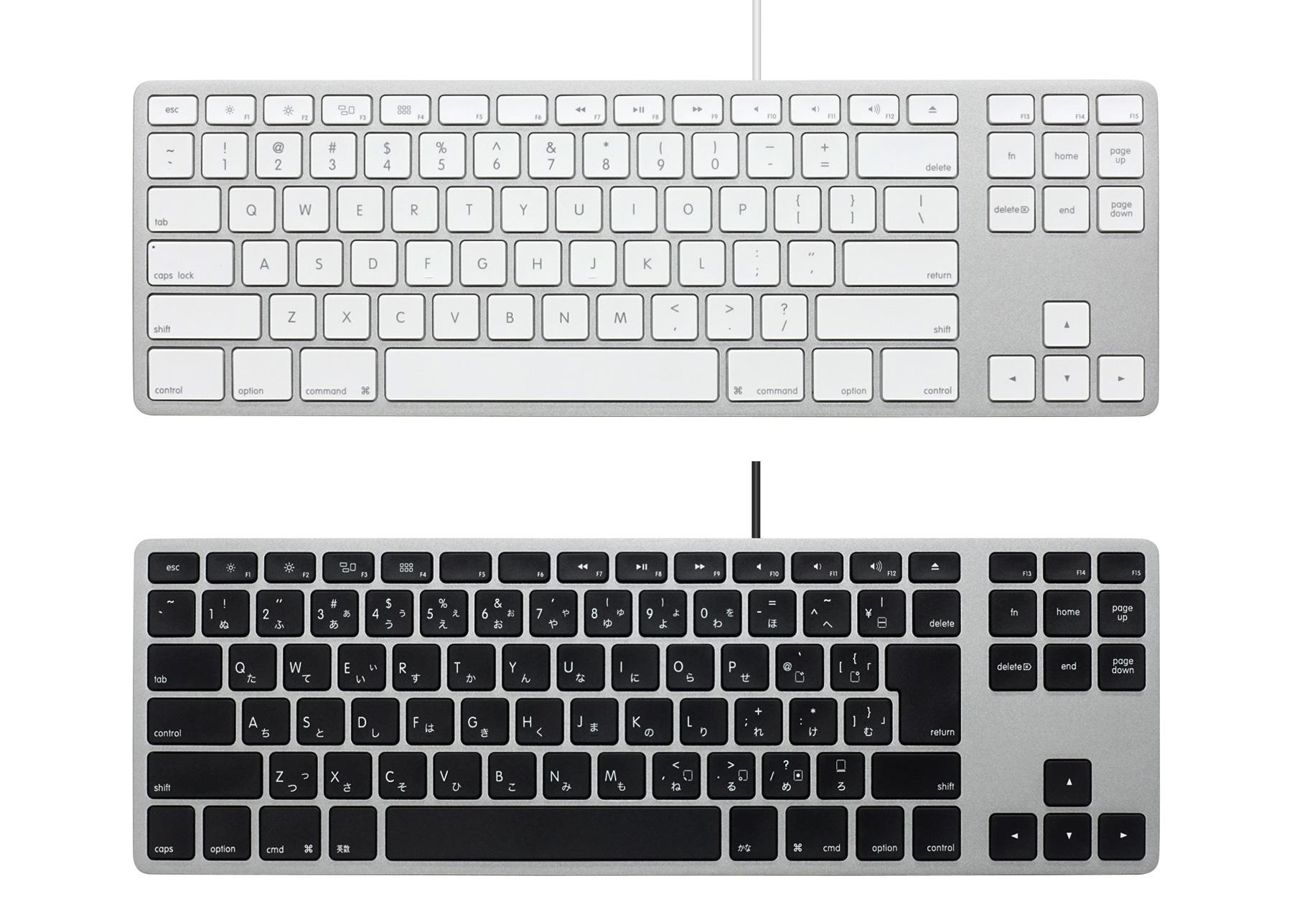 ダイヤテック、Mac向けキーボード「Matias Wired Aluminum Tenkeyless keyboard for Mac」を発売