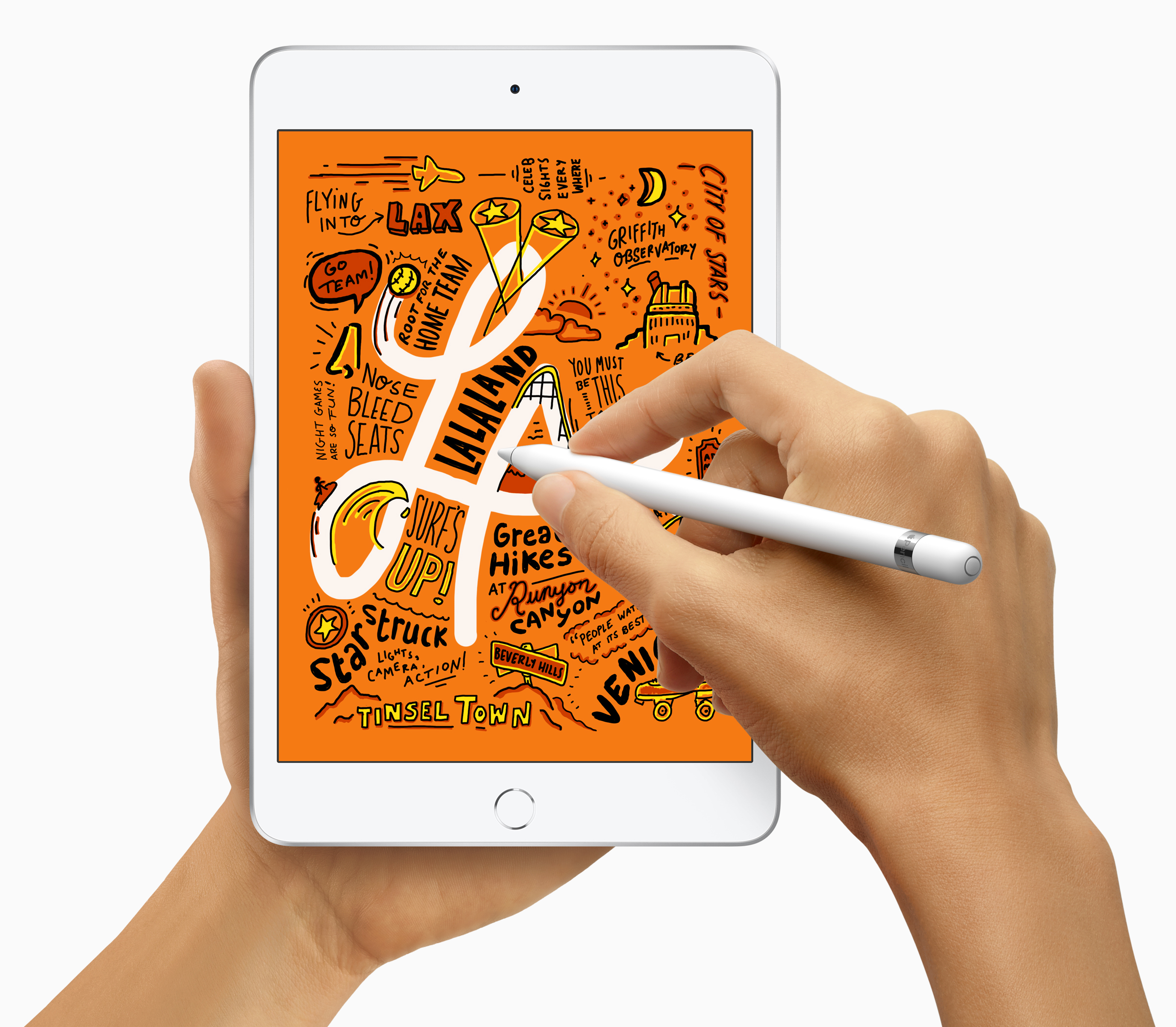 iPad mini with Apple Pencil
