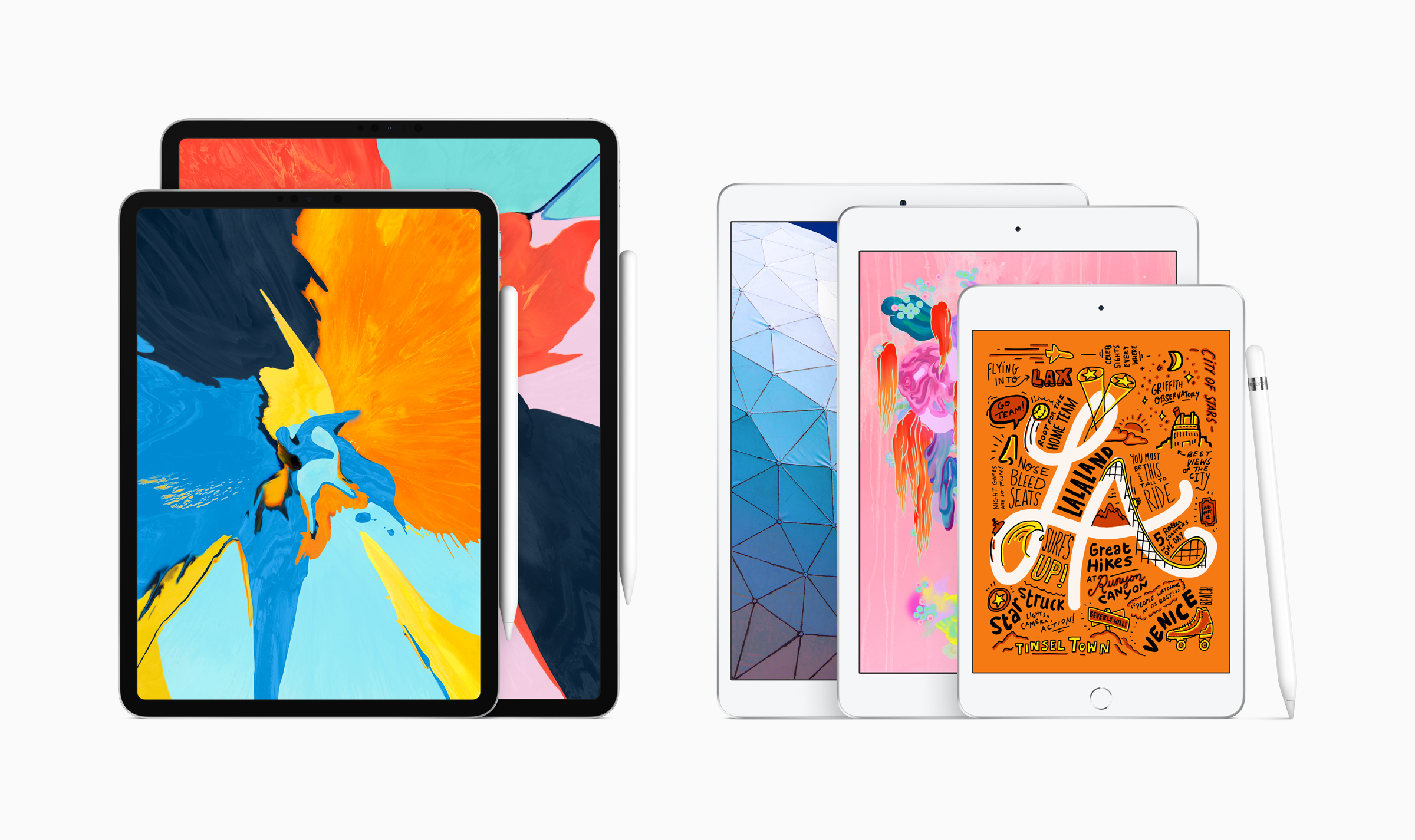 Apple Pencil対応の新型iPad Air、iPad miniが登場