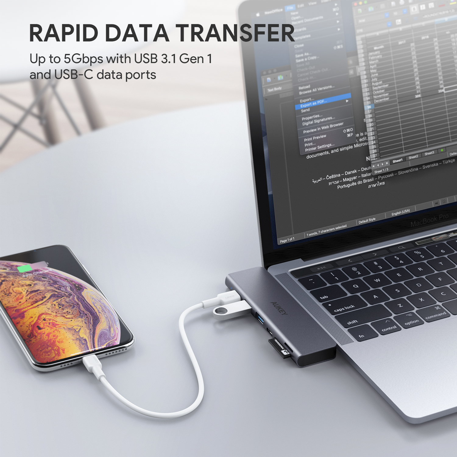 AUKEY CB-C76 Data Transfer
