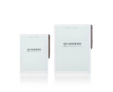 紙と同じ書き心地の電子ペーパー「QUADERNO」がmacOSに8月下旬に対応