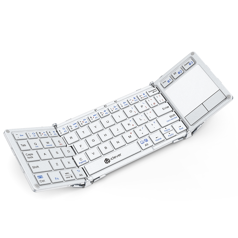 iCleverからBluetooth5.1対応の折りたたみ式キーボードが登場