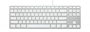 Matias Wired Aluminum Tenkeyless keyboard for Mac