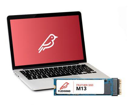 古くなったMac製品が復活するハイエンドSSD「FLEDGING FEATHER M13」が販売