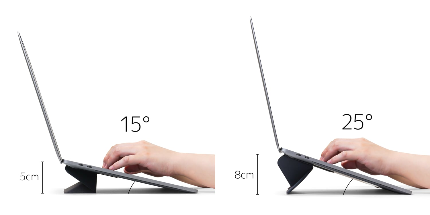 ORIGAMI STAND for Laptop 角度