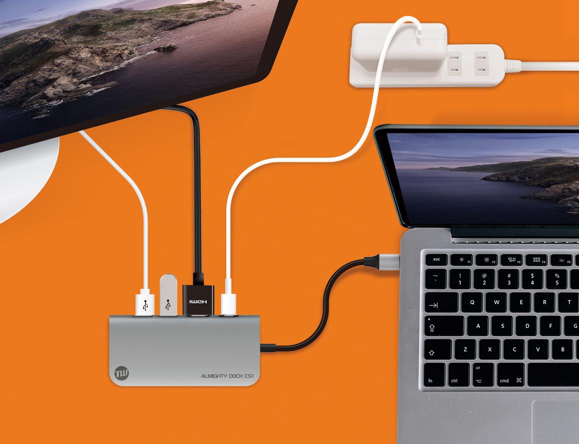 SSD内蔵USB-Cハブ「ALMIGHTY DOCK CS1」のクラウドファンディングが開始