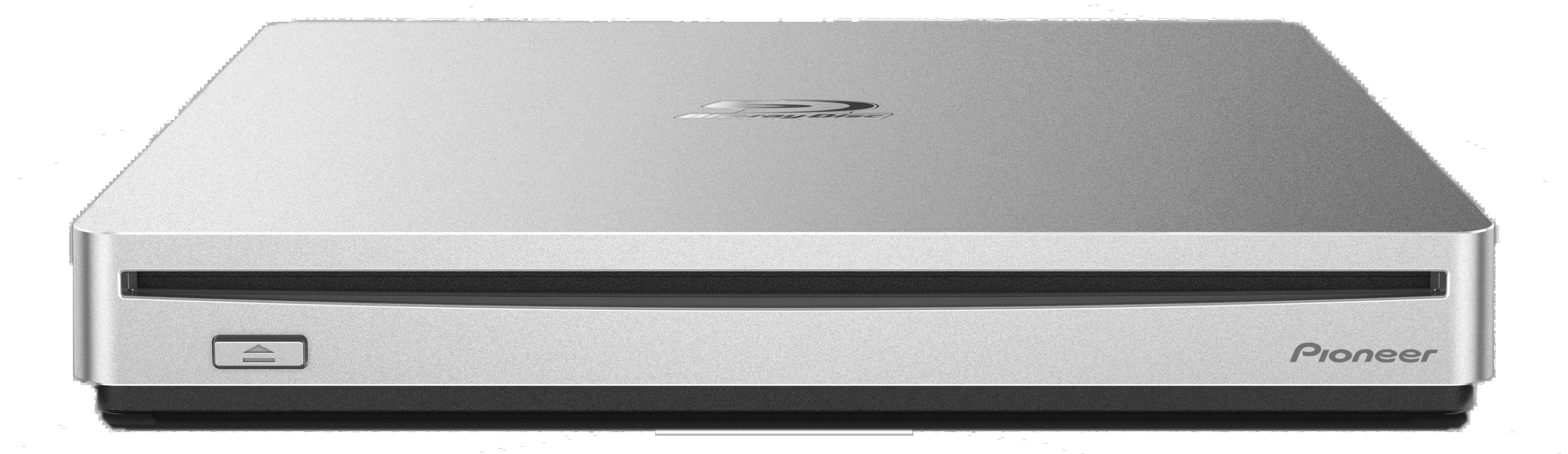 パイオニア、Mac対応のポータブルBD/DVD/CDライター「BDR-XS07JL」を発売