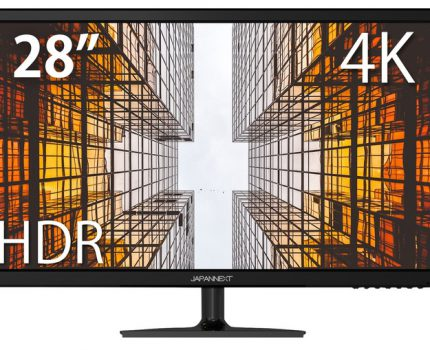 4K HDR10、USB-C接続対応の28型ワイド液晶 「JN-T284CUHDR」が発売