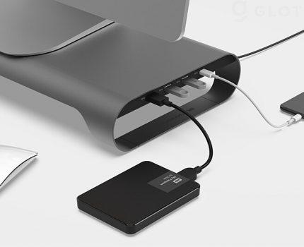 USBハブを内蔵したアルミ製PCスタンド「MONITORMATE ProBASE C」が発売中