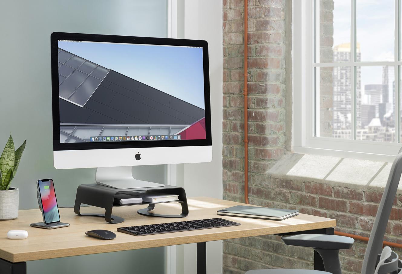 米Twelve SoutsのiMacに適したPCスタンド「Curve Riser」が国内販売開始