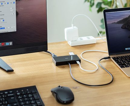サンワサプライよりType-Cドッキングステーション「USB-3TCH30BK」が発売