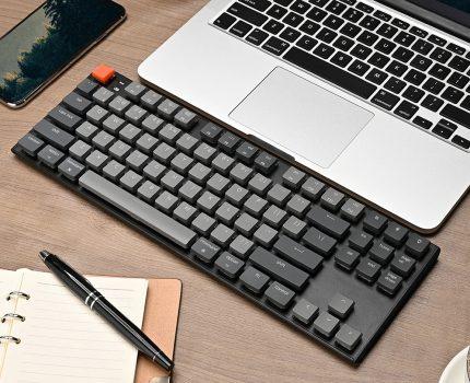 コベックジャパン、Mac対応のメカニカルキーボード「Keychron K1」を発売