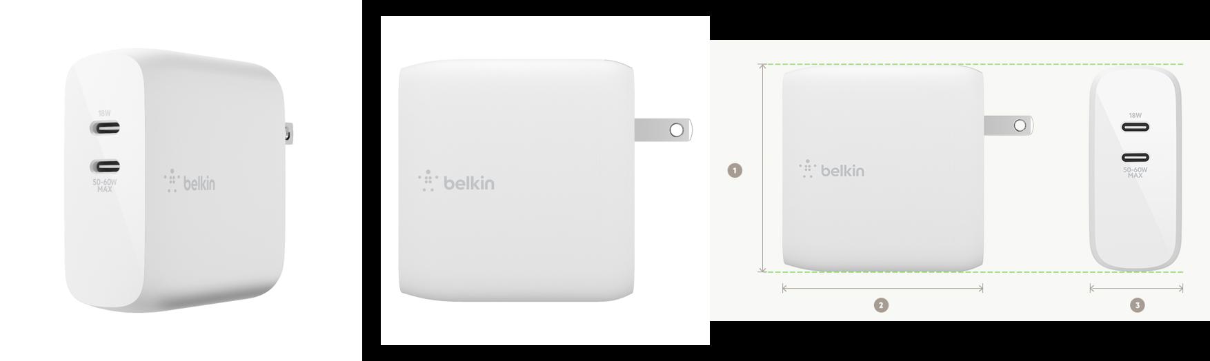 ベルキン、お手頃価格のGaN採用の充電器「BOOST↑CHARGE PRO 6」を発売