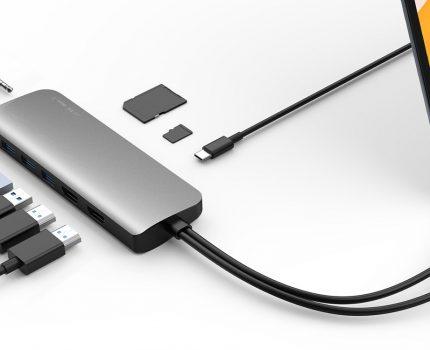 米HYPERブランドからHDMIで2画面出力ができるUSB-Cハブが発売