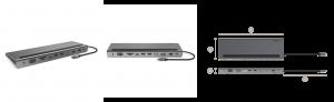 CONNECT USB-C 11-in-1マルチポートドック