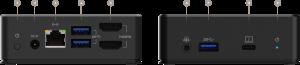 USB-Cデュアルディスプレイドッキングステーション