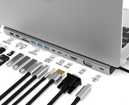 14ポートを持つUSB-Cドッキングステーション「AXB141DS」が6月1日(土)より発売
