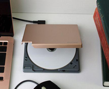 USB-C接続のBD/DVD/CDライター「BDR-XD08」が6月上旬に発売