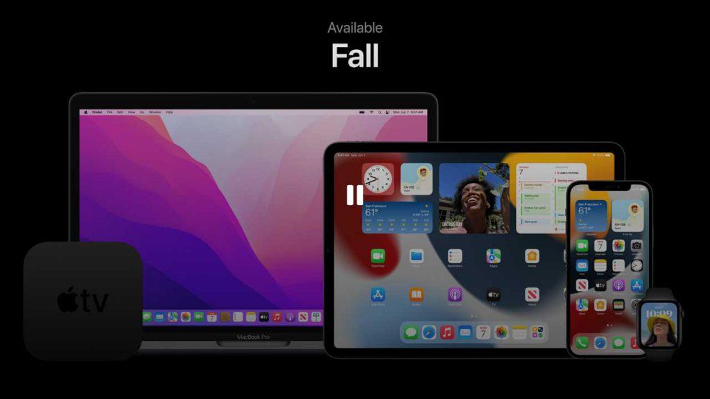 macOS Montereyのリリースは「Fall(秋)」