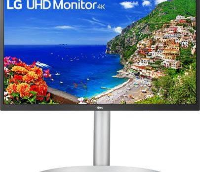 LGエレクトロニクス、IPSパネル4K 27インチのディスプレイ「27UP550-W」を2021年9月中旬より発売