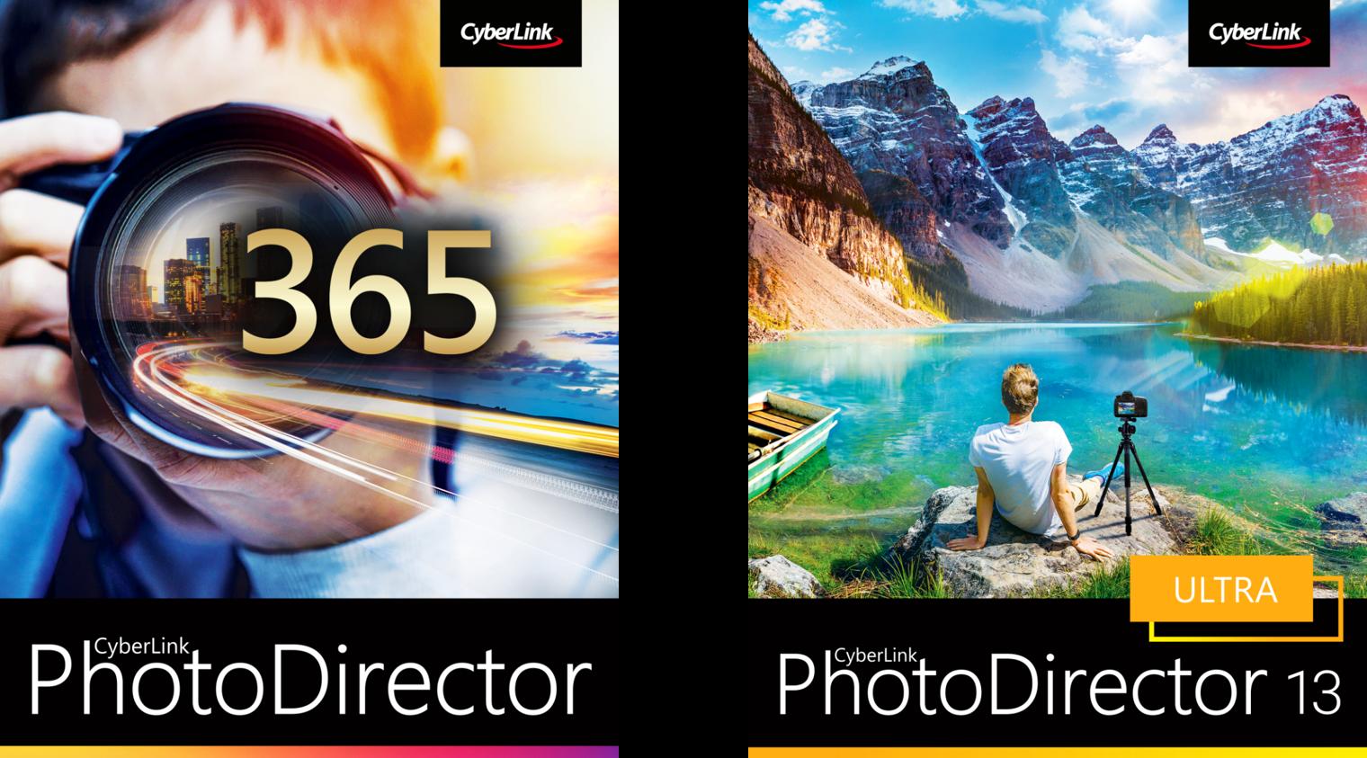 サイバーリンク、AIを搭載した写真編集ソフト「PhotoDirector 13」をリリース
