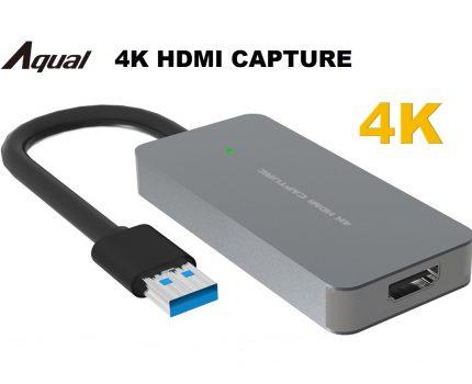 配信に適した4K対応のHDMIキャプチャ「Aqual 4K HDMIキャプチャ」が発売