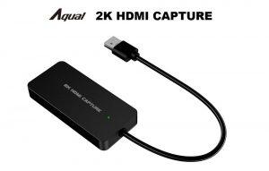 Aqual 2K HDMIキャプチャ