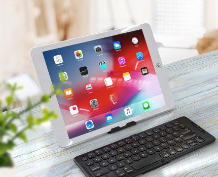 iCleverより、折りたたみ式のBluetoothキーボード「IC-BK26」が発売